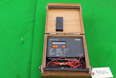 Grant Squirrel Meter / Logger SQ8-4U in Wooden Cases
