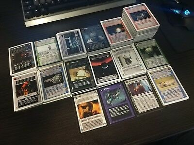 Star Wars CCG Collection (615 Cards - Cataloged & Pictured)