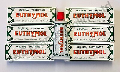 Euthymol Toothpaste 75ml Pack of 6