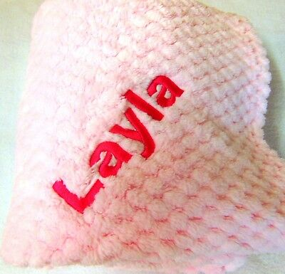 Baby Blanket.  Pram Blanket.  Excellent Quality. Personalised. New Baby Gift.