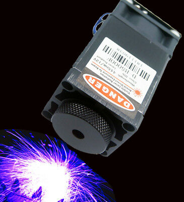 450nm 4.5W-5W Focusable Blue Laser Module/TTL/Carving/Burning w/Gift Goggles