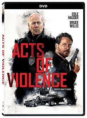 Acts Of Violence 2017 O-ring Bruce Willis Mystery Thrillers DVD NEW BEST SELLING