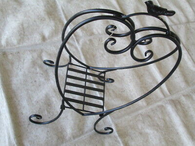 Wrought iron Ornamental Pot plant stand
