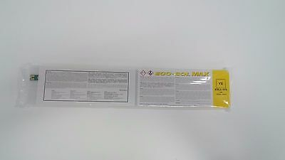 ROLAND ORIGINAL YELLOW ECO-SOL MAX INK CARTRIDGE SEALED 440ml ESL3-4YE