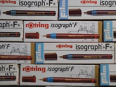 ------------ Rotring Isograph --- F --- Pen 0,70 --- Unused Stock