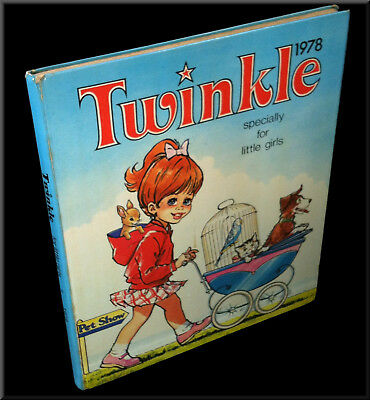 Vintage 1978 Hardback Twinkle Annual, specially for little girls Great Condition
