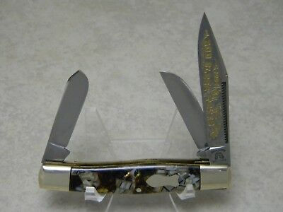 "Fight'n Rooster Germany 1994 ""God Bless Texas"" 1 of 500 Stockman Knife"