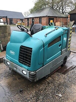 COMING SOON! 2008 Tennant M20 Diesel Scrubber Sweeper Only 288 Hours REFURBISHED