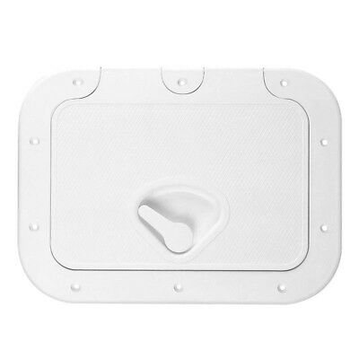 Nuova Rade Hinged Boat Access/Inspection Hatch (375mm x 275mm) White