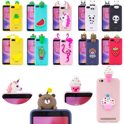3D Cute Cartoon Soft Silicone Rubber Back Case Cover For Samsung Galaxy S9 Note9