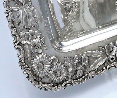 """KIRK REPOUSSE Sterling Rectangular TRAY 13"""""""