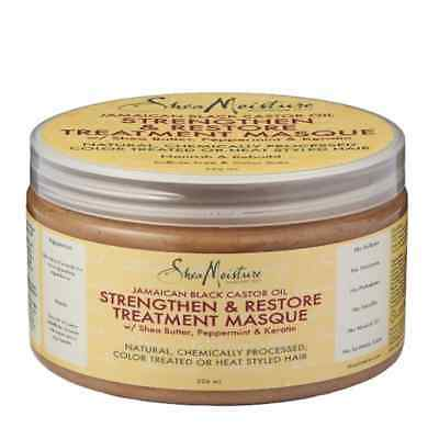 Shea Moisture Jamaican Black Castor Oil Strengthen & Restore Treatment Masque 34