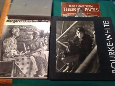Lot Of Four Photography Books Margaret Bourke-White