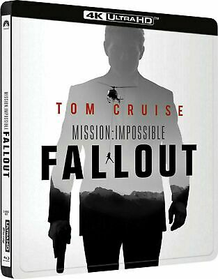 Mission: Impossible - Fallout 4K Steelbook [Blu-ray] New & Sealed!!