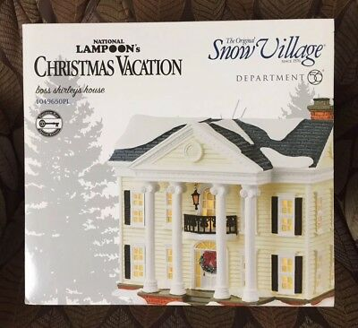 Platinum Edition National Lampoon's Christmas Vacation - Boss Shirley's House #3