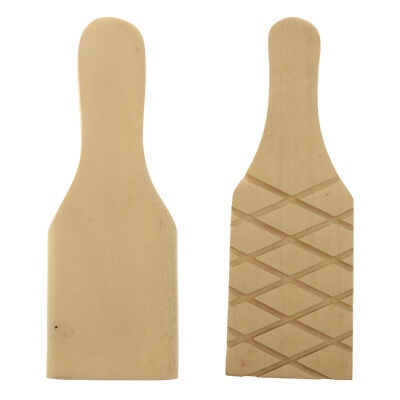 Natural Wooden Clay Paddle Pottery Tools for Kitchen Clay Pottery