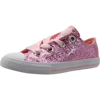806b053f7032 Converse Chuck Taylor All Star Big Eyelets Ox Storm Pink Synthetic Youth