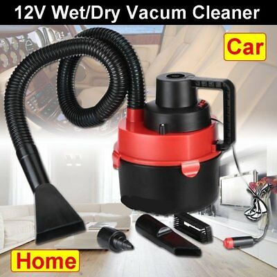 New Auto/car Van Boat Vacuum Cleaner 12V Wet & Dry Portable With Accessories E9
