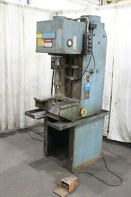 10 Ton Denison Hydraulic C Frame Press: Yoder #69803