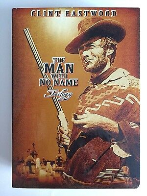 The Man With No Name Trilogy 3-Disc DVD Set Clint Eastwood