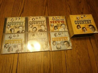 2009 Time Life Golden Age Of Country 12 Cd Set Estate Find Great Old Songs!