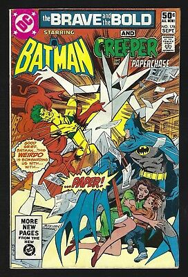 DC Comics Batman The Brave And Bold Creeper Vol 27 September 1981 #178