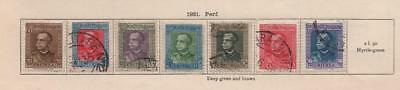 ITALIAN ERITREA: 1930-31 Examples - Ex-Old Time Collection - Part Pages (20576)