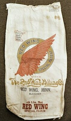 Vintage Red Wing Special Flour Cloth Sack
