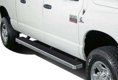 iBoard Running Boards 5 inches Fit 02-08 Dodge Ram 1500 2500 3500 Quad Cab