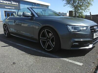2012 AUDI A5 2.0 TDI S- LINE 177 BHP 6 SPEED MANUAL CONVERTIBLE,56000 miles only
