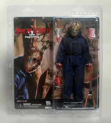 Friday the 13th Part 5 JASON VOORHEES Retro Cloth Action Figure Neca New in Box