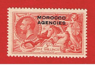 British Offices Abroard- Morocco #219 MXFLH OG  Britannia Rules  Free S/H