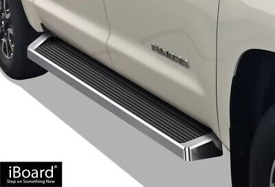 iBoard Running Boards Style Fit 07-18 Toyota Tundra CrewMax Cab