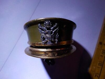 WW2 Sweetheart pin, Locket, Visor Cap, Army Air Corps, Jewelry, Photograph