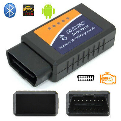 ELM327 V1.5 Bluetooth Interface OBDII OBD2 USB Diagnostic Auto Car Scanner Scan