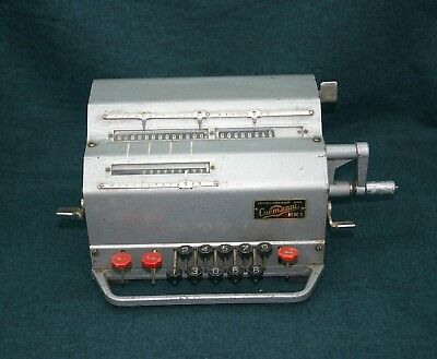 "Vintage mechanical calculator, additional machine ""COCHETMASH"" VK-1 1964"