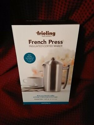 Frieling 36 oz. Insulated Stainless Steel French Press in Brushed Finish! #0144