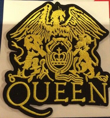 4 INCH FREDDIE MERCURY,s QUEEN IRON ON PATCH  BUY 2 We SEND THREE