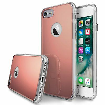 Ringke Fusion Mirror Bright Shiny Thin Slim Case iPhone 7 iPhone 8 Rose Gold MH