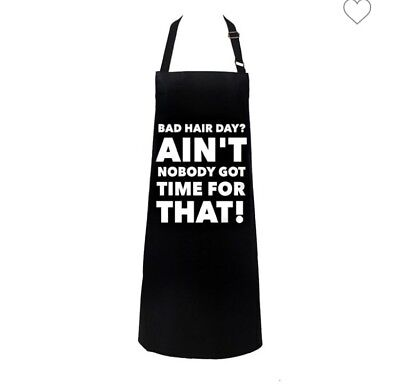 Bad Hair Day Salon Apron Hairdressing Beauty