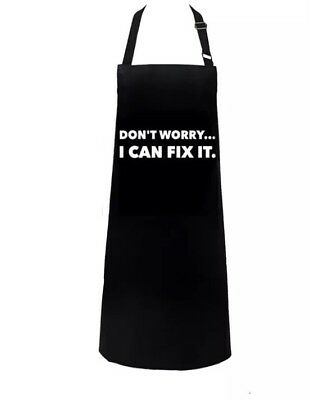 Don't Worry I Can Fix It  Salon Apron Hairdressing Beauty