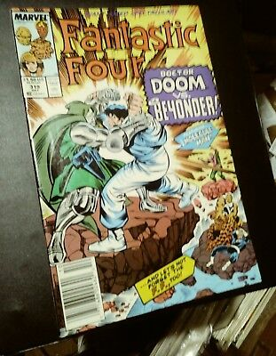 fantastic four issue 319. 1988 dr.doom giant size issue