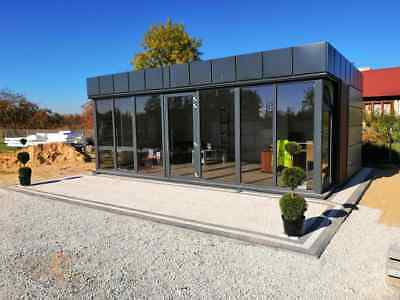 Portable Office 600x300cm Temporary Modular Building, Portable Cabin11000+VAT