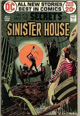 Secrets Of Sinister House #6-1972 vg+ DC Horror / Mike Kaluta