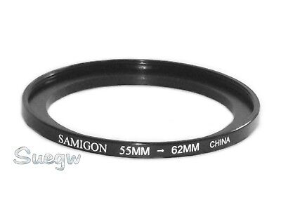 55mm to 62mm Samigon Step-Up Ring