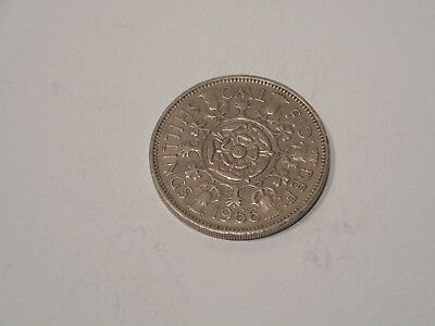 1966 Great Britain Two Shillings Coin