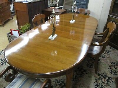 Pennsylvania House Dining Room Table And 4 Chairs 3 Leaves