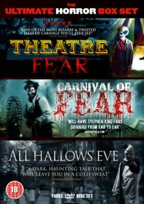 Theater Of Fear / All Hallows Eve / Carnival Of Fear DVD Neue DVD (101FILMBOX22)
