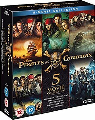 Pirates of the Caribbean 5-Movie Collection [Region Free] BRAND NEW AND SEALED!!