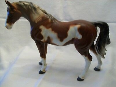 MINT Large Pinto Vintage Porcelain Ceramic Horse Japan Figurine statue enesco ??